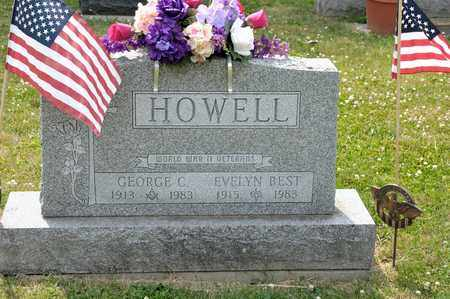 HOWELL, GEORGE C - Richland County, Ohio | GEORGE C HOWELL - Ohio Gravestone Photos