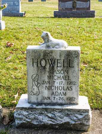 HOWELL, JASON MICHAEL - Richland County, Ohio | JASON MICHAEL HOWELL - Ohio Gravestone Photos