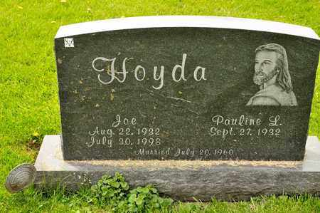 HOYDA, JOE - Richland County, Ohio | JOE HOYDA - Ohio Gravestone Photos