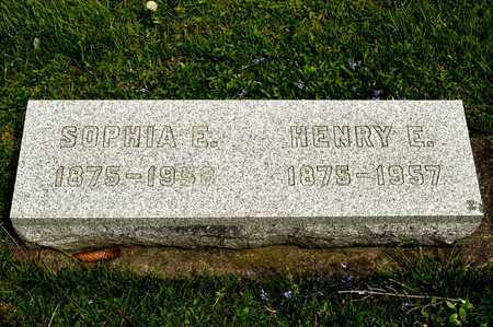 HUBBS, SOPHIA E - Richland County, Ohio | SOPHIA E HUBBS - Ohio Gravestone Photos
