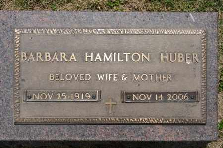 HAMILTON HUBER, BARBARA - Richland County, Ohio | BARBARA HAMILTON HUBER - Ohio Gravestone Photos