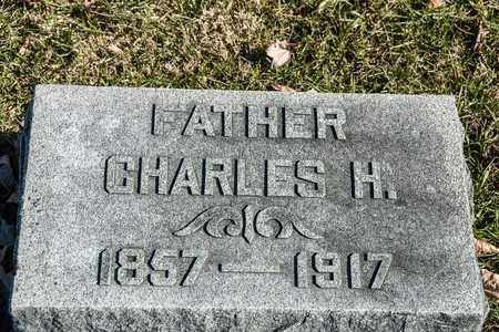 HUBER, CHARLES H - Richland County, Ohio | CHARLES H HUBER - Ohio Gravestone Photos