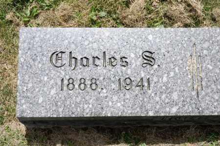 HUBER, CHARLES S - Richland County, Ohio | CHARLES S HUBER - Ohio Gravestone Photos