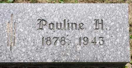 HUBER, PAULINE H - Richland County, Ohio | PAULINE H HUBER - Ohio Gravestone Photos