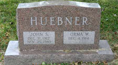 HUEBNER, JOHN S - Richland County, Ohio | JOHN S HUEBNER - Ohio Gravestone Photos