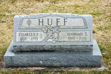 HUFF, HANNAH T - Richland County, Ohio | HANNAH T HUFF - Ohio Gravestone Photos