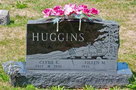 HUGGINS, CLYDE E - Richland County, Ohio | CLYDE E HUGGINS - Ohio Gravestone Photos