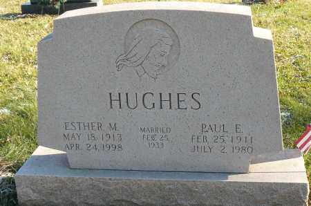 DOTY HUGHES, ESTHER - Richland County, Ohio | ESTHER DOTY HUGHES - Ohio Gravestone Photos