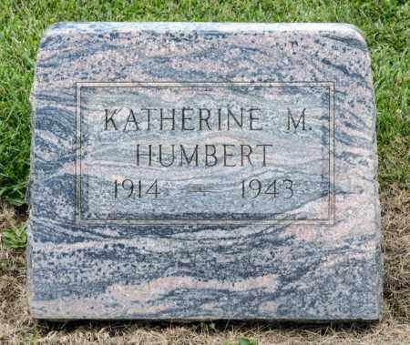 HUMBERT, KATHERINE M - Richland County, Ohio | KATHERINE M HUMBERT - Ohio Gravestone Photos