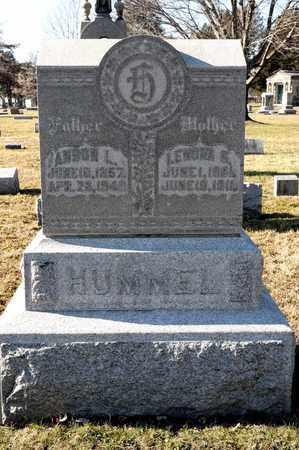 HUMMEL, ANSON L - Richland County, Ohio | ANSON L HUMMEL - Ohio Gravestone Photos