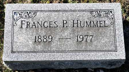 HUMMEL, FRANCES P - Richland County, Ohio | FRANCES P HUMMEL - Ohio Gravestone Photos