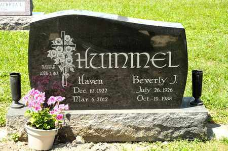 HUMMEL, BEVERLY J - Richland County, Ohio | BEVERLY J HUMMEL - Ohio Gravestone Photos