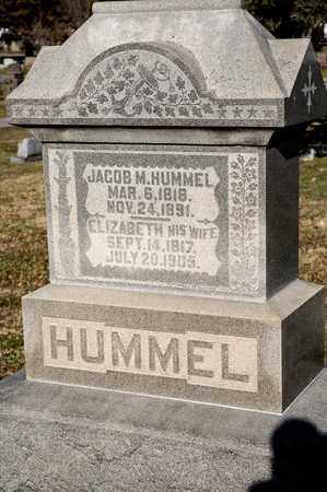 HUMMEL, ELIZABETH - Richland County, Ohio | ELIZABETH HUMMEL - Ohio Gravestone Photos