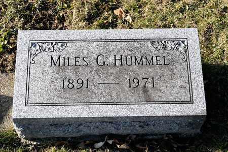 HUMMEL, MILES G - Richland County, Ohio | MILES G HUMMEL - Ohio Gravestone Photos