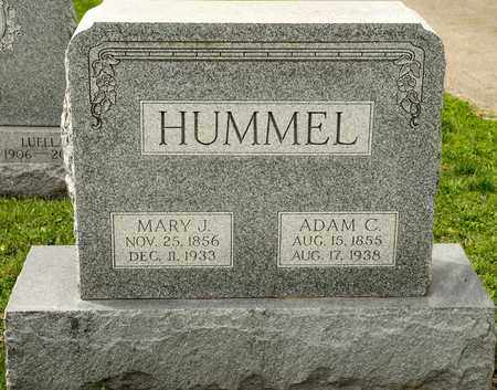 HUMMEL, MARY J - Richland County, Ohio | MARY J HUMMEL - Ohio Gravestone Photos