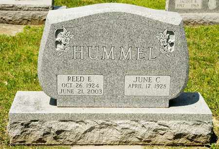 HUMMEL, REED E - Richland County, Ohio | REED E HUMMEL - Ohio Gravestone Photos