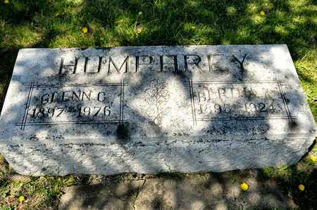 HUMPHREY, BIRTHA A - Richland County, Ohio | BIRTHA A HUMPHREY - Ohio Gravestone Photos