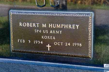 HUMPHREY, ROBERT M - Richland County, Ohio | ROBERT M HUMPHREY - Ohio Gravestone Photos