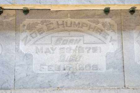 HUMPHREY, ZOE E - Richland County, Ohio | ZOE E HUMPHREY - Ohio Gravestone Photos