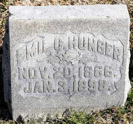 HUNGER, EMIL C - Richland County, Ohio | EMIL C HUNGER - Ohio Gravestone Photos