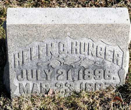 HUNGER, HELEN C - Richland County, Ohio | HELEN C HUNGER - Ohio Gravestone Photos