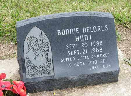 HUNT, BONNIE DELORES - Richland County, Ohio | BONNIE DELORES HUNT - Ohio Gravestone Photos