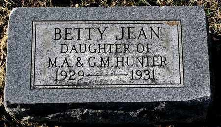 HUNTER, BETTY JEAN - Richland County, Ohio | BETTY JEAN HUNTER - Ohio Gravestone Photos