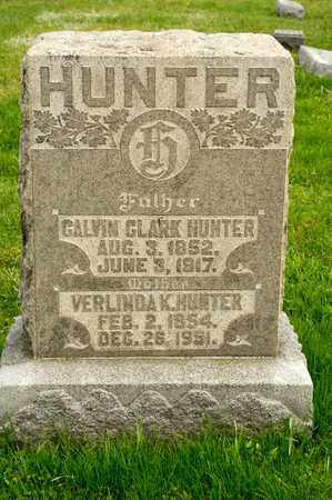 HUNTER, CALVIN CLARK - Richland County, Ohio | CALVIN CLARK HUNTER - Ohio Gravestone Photos