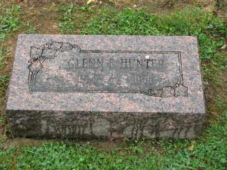 HUNTER, GLENN E. - Richland County, Ohio | GLENN E. HUNTER - Ohio Gravestone Photos