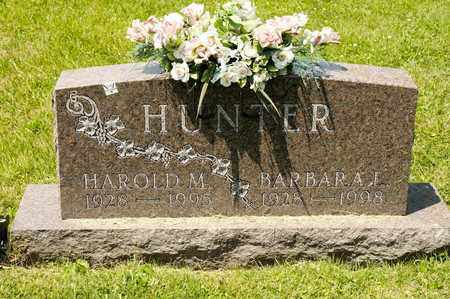 HUNTER, HAROLD M - Richland County, Ohio | HAROLD M HUNTER - Ohio Gravestone Photos