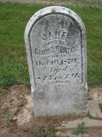 HUNTER, SAMUEL - Richland County, Ohio | SAMUEL HUNTER - Ohio Gravestone Photos