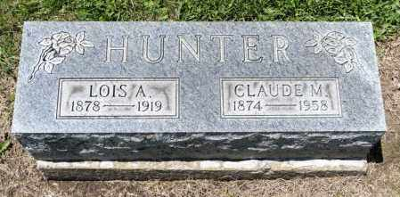 ANDERSON HUNTER, LOIS A - Richland County, Ohio | LOIS A ANDERSON HUNTER - Ohio Gravestone Photos