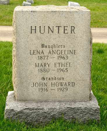 HUNTER, LENA ANGELINE - Richland County, Ohio | LENA ANGELINE HUNTER - Ohio Gravestone Photos