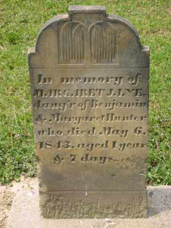 HUNTER, MARGARET JANE - Richland County, Ohio | MARGARET JANE HUNTER - Ohio Gravestone Photos