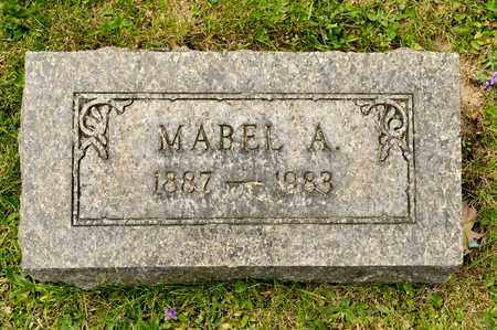 HUNTER, MABEL A - Richland County, Ohio | MABEL A HUNTER - Ohio Gravestone Photos
