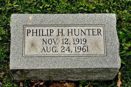 HUNTER, PHILIP H - Richland County, Ohio | PHILIP H HUNTER - Ohio Gravestone Photos