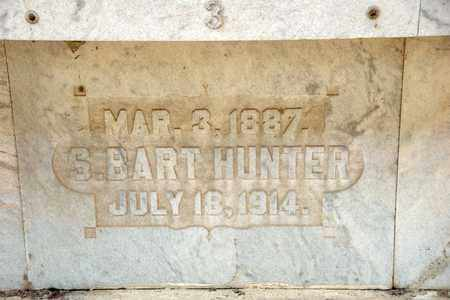 HUNTER, S BART - Richland County, Ohio | S BART HUNTER - Ohio Gravestone Photos