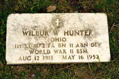 HUNTER, WILBUR W - Richland County, Ohio | WILBUR W HUNTER - Ohio Gravestone Photos