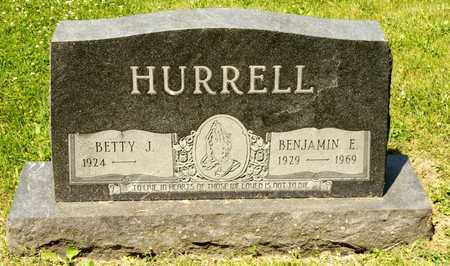 HURRELL, BENJAMIN E - Richland County, Ohio | BENJAMIN E HURRELL - Ohio Gravestone Photos