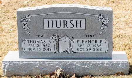 HURSH, THOMAS A - Richland County, Ohio | THOMAS A HURSH - Ohio Gravestone Photos