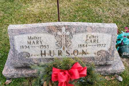 HURSON, CARL - Richland County, Ohio | CARL HURSON - Ohio Gravestone Photos