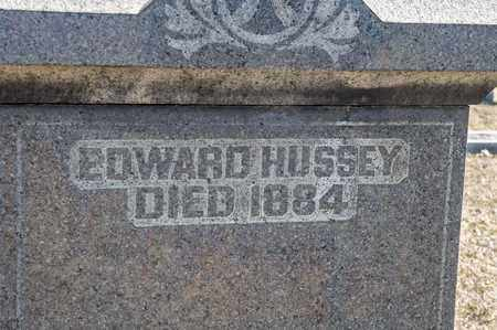 HUSSEY, EDWARD - Richland County, Ohio | EDWARD HUSSEY - Ohio Gravestone Photos