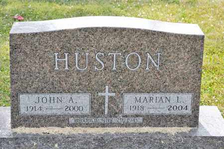 HUSTON, JOHN A - Richland County, Ohio | JOHN A HUSTON - Ohio Gravestone Photos