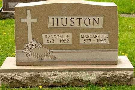 HUSTON, RANSOM H - Richland County, Ohio | RANSOM H HUSTON - Ohio Gravestone Photos