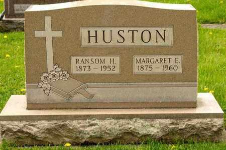 HUSTON, MARGARET E - Richland County, Ohio | MARGARET E HUSTON - Ohio Gravestone Photos