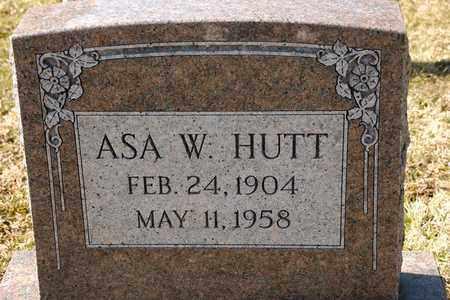 HUTT, ASA W - Richland County, Ohio | ASA W HUTT - Ohio Gravestone Photos
