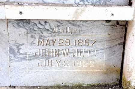 HUTT, JOHN W - Richland County, Ohio | JOHN W HUTT - Ohio Gravestone Photos