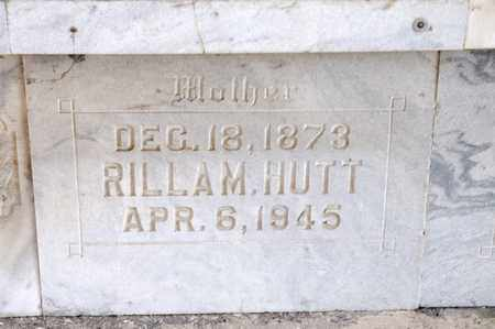 HUTT, RILLA M - Richland County, Ohio | RILLA M HUTT - Ohio Gravestone Photos