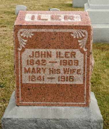 ILER, JOHN - Richland County, Ohio | JOHN ILER - Ohio Gravestone Photos