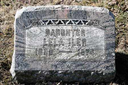 ILER, LELA - Richland County, Ohio | LELA ILER - Ohio Gravestone Photos